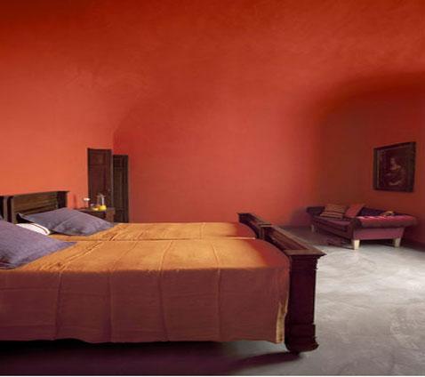 deco chambre orange et noir - visuel #5