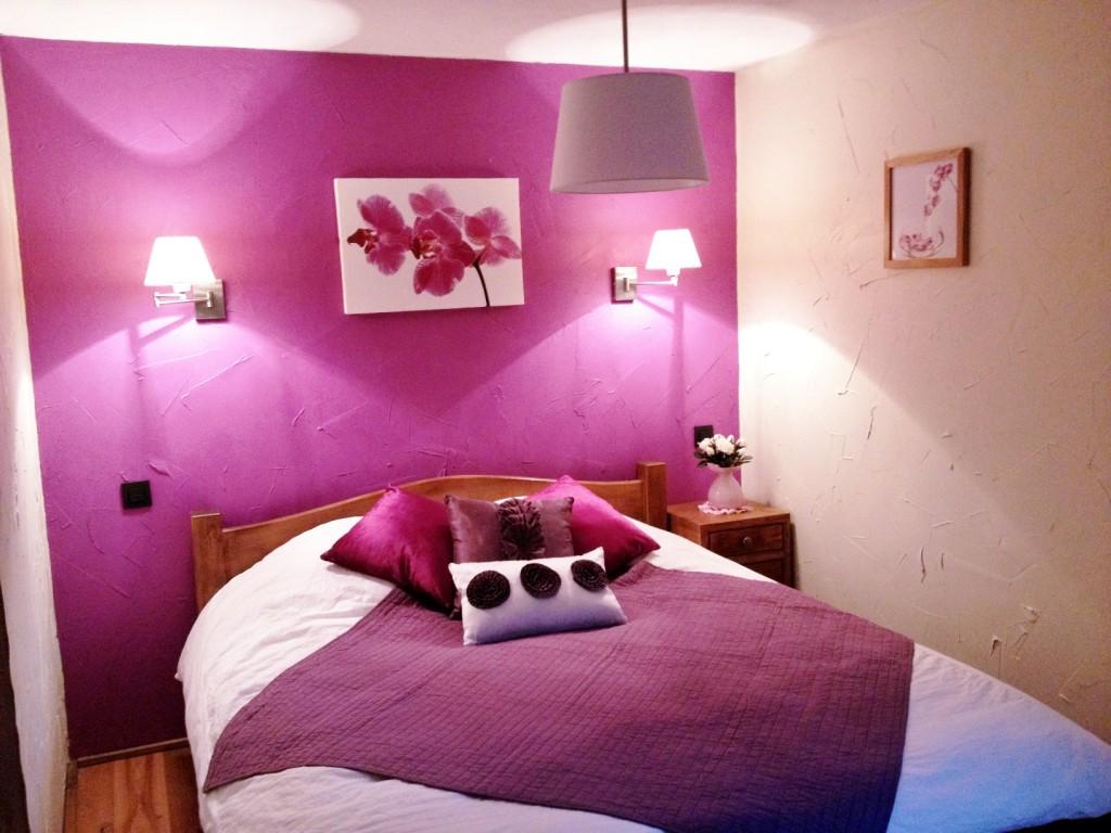 deco chambre rose et blanc - visuel #8