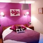 deco chambre rose et blanc