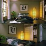 deco chambre zen japonais