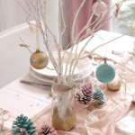 decoration a faire soi meme pour table de noel