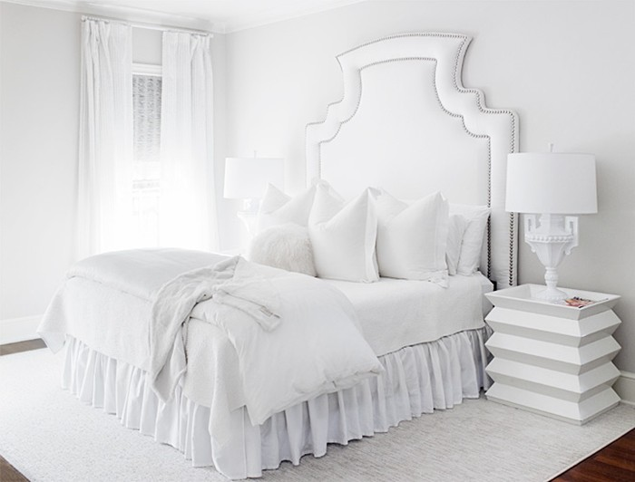 Awesome Deco Chambre A Coucher Blanche Pictures - Design Trends 2017 ...
