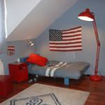 decoration chambre americaine. Black Bedroom Furniture Sets. Home Design Ideas