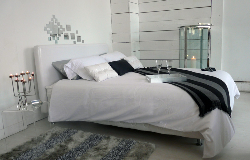 stunning deco chambre contemporaine gallery. Black Bedroom Furniture Sets. Home Design Ideas