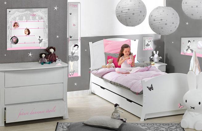 décoration chambre danseuse étoile
