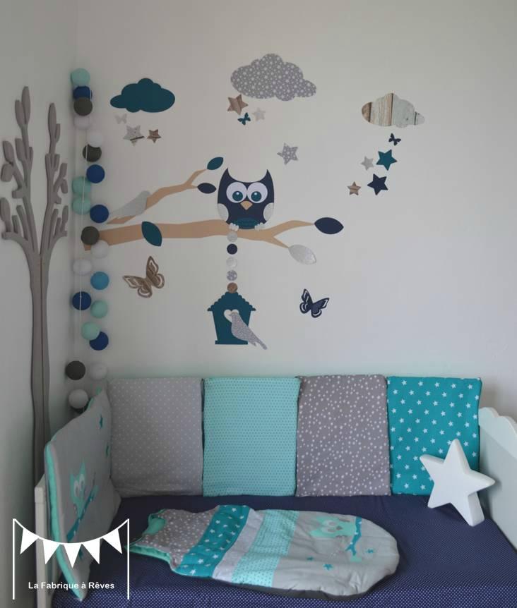Beautiful Decoration Chambre Bebe Hibou Gallery Matkin Info