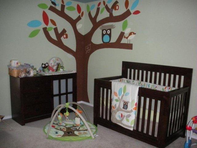 decoration chambre de bebe hibou - visuel #1