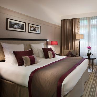 decoration chambre hotel luxe - visuel #5
