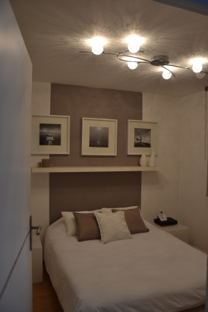 decoration chambre taupe blanc