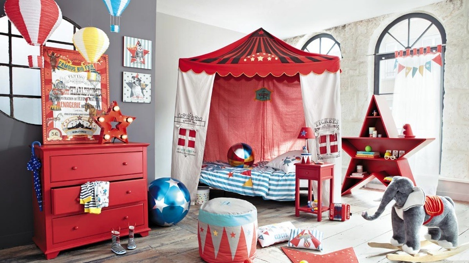 Decoration chambre theme cirque visuel 2 - Decoration theme cirque ...