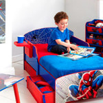 decoration de chambre spiderman