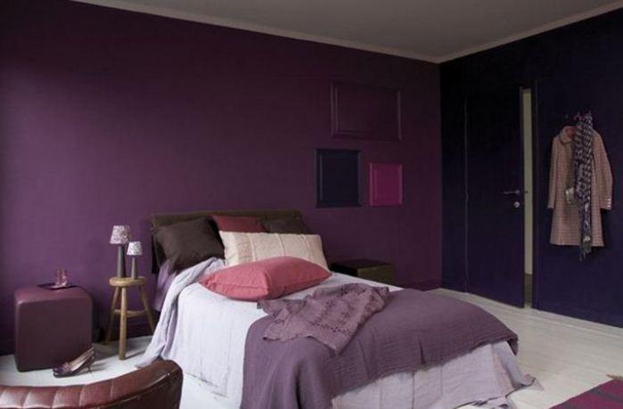peinture decorative pour chambre a coucher design de maison. Black Bedroom Furniture Sets. Home Design Ideas