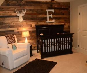 decoration en bois pour chambre bebe