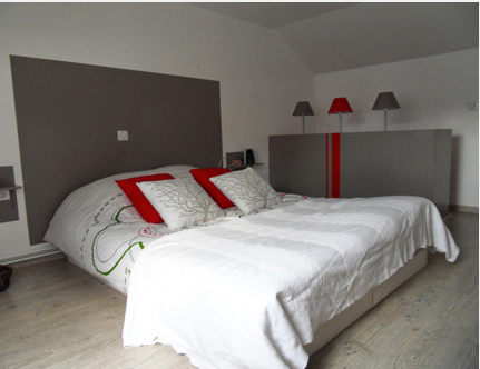 Best Chambre Adulte Rouge Et Beige Contemporary Antoniogarcia Info .