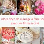 fabriquer deco pour mariage
