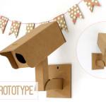 fabriquer objet deco en carton