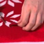 fabriquer une deco de table pour noel