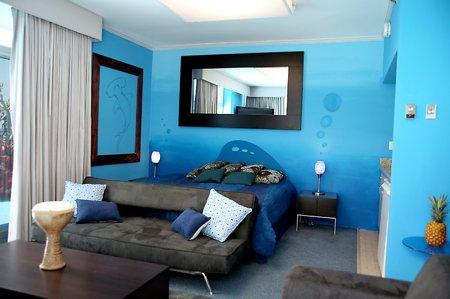 idee deco chambre ado bleue visuel 9. Black Bedroom Furniture Sets. Home Design Ideas