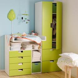 meuble de rangement pour chambre bebe - visuel #2