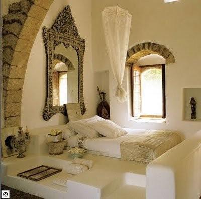 Chambre décoration orientale