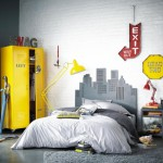 deco chambre ado jaune