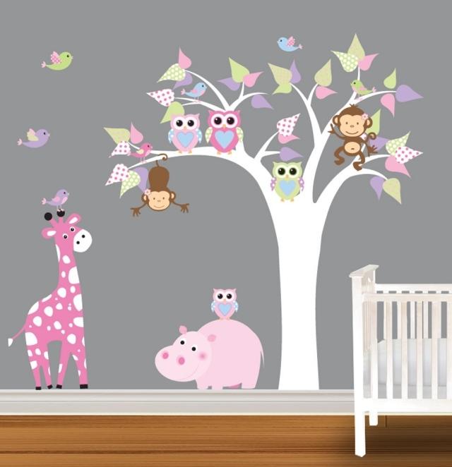 Decoration chambre bebe fille hibou - Decoration de bebe ...