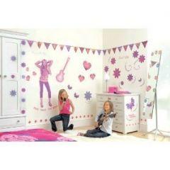decoration chambre fille hannah montana