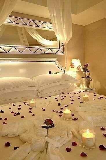 Chambre Fille Style Romantique : Decoration chambre pour nuit de noce