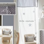 decoration chambre bebe rideau