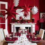 decoration chambre pour noel