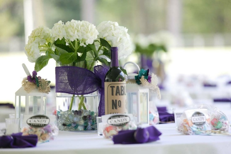 idee decoration table mariage pas cher