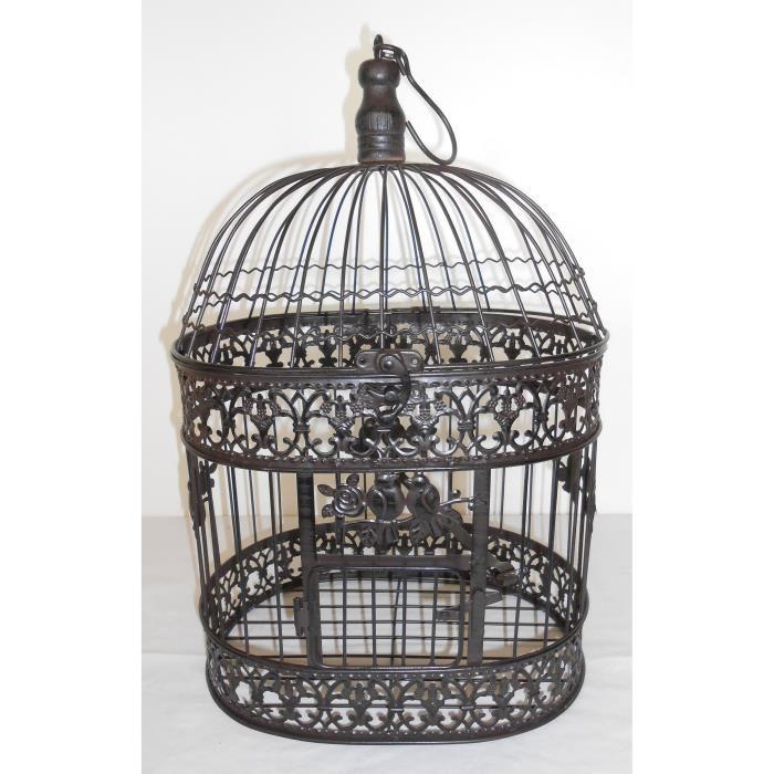 cage oiseau fer forge deco visuel 1. Black Bedroom Furniture Sets. Home Design Ideas