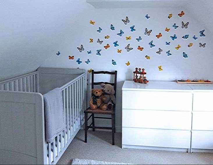 idee deco chambre bebe stickers