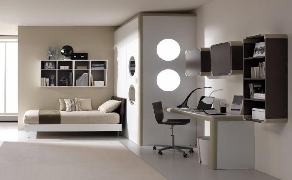 Deco chambre ado fille taupe for Camere per ragazzi design