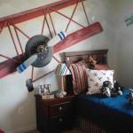 deco chambre garcon avion