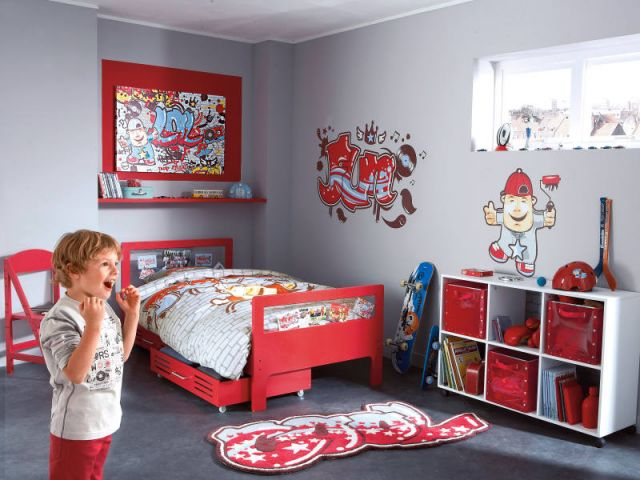 decoration chambre garcon 5 ans. Black Bedroom Furniture Sets. Home Design Ideas