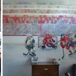 deco chambre de hockey