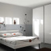 decoration chambre adulte grise