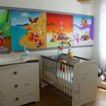 decoration de chambre bebe winnie l ourson