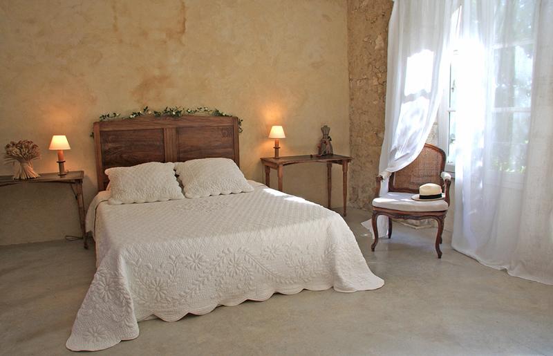 decoration chambre provencale