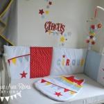deco chambre bebe theme cirque