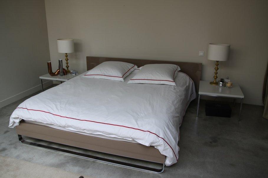 deco chambre gris et beige. Black Bedroom Furniture Sets. Home Design Ideas