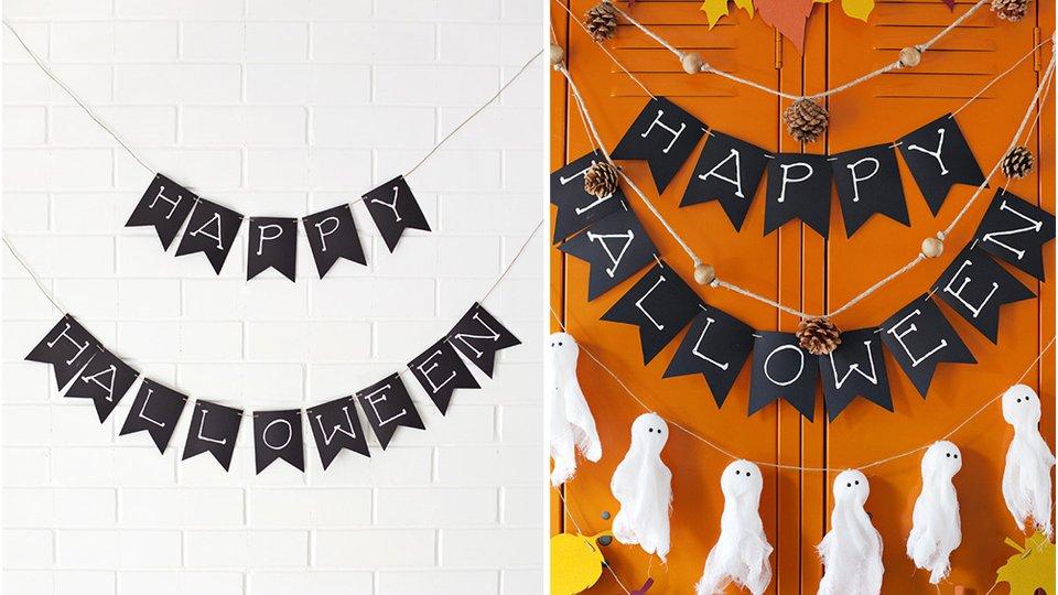 decoration d halloween a fabriquer soi meme visuel 9. Black Bedroom Furniture Sets. Home Design Ideas