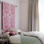 decoration tete de lit papier peint