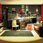 deco chambre new yorkaise