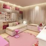 decoration chambre girly