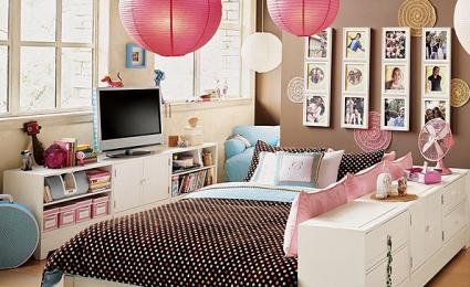 Idee deco chambre ado o fille - Decorer une chambre d ado fille ...