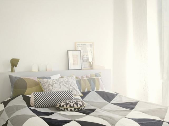 chambre deco nordique visuel 9. Black Bedroom Furniture Sets. Home Design Ideas