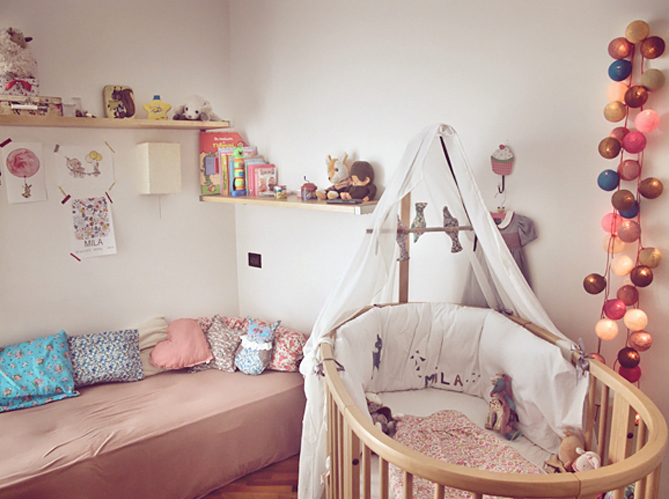 Deco lit bebe fille - Idee chambre bebe fille ...