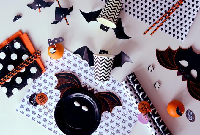 decoration d halloween a fabriquer soi meme facile. Black Bedroom Furniture Sets. Home Design Ideas